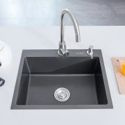 h5545-2-black-single-bowl-nano-stainless-steel-sink