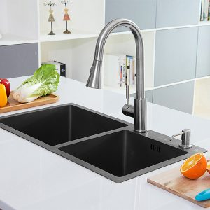 h7240-1-black-double-bowl-nano-stainless-steel-sink