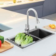 h7541-1-grey-double-bowl-nano-stainless-steel-sink