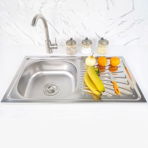 durable and long lasting sink S-7540SA front view