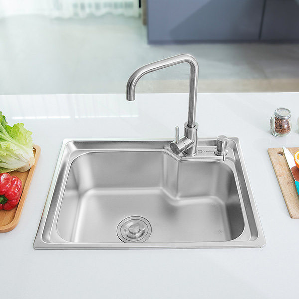 Topmount Single Basin Sink – CreaVe