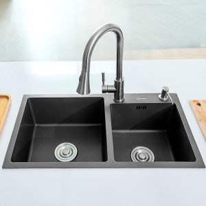h7240-2-black-double-bowl-nano-stainless-steel-sink