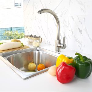 Topmount Single Bowl Sink S-4539A sideview
