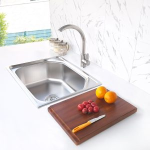 kitchen sink S-6045C side view