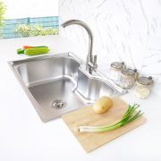 durable sink S-7050 side view
